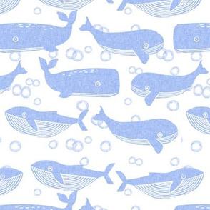 whales // whale periwinkle kids cute baby design whales oceans ocean baby nursery sweet animals