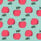 apples // red apples fruit fruits cute fall autumn kids vegan