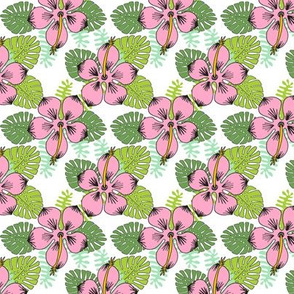 hibiscus // flower tropical flower hawaii florida tropical summer