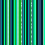Bella Nina 6 Vertical Stripe, light green, teal, navy blue