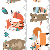 Tribal Woodland Creatures