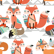 Tribal woodland foxes