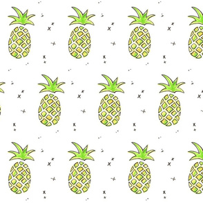 Pineapple Delight in Color