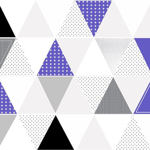 Pattern Play Triangles // Grape