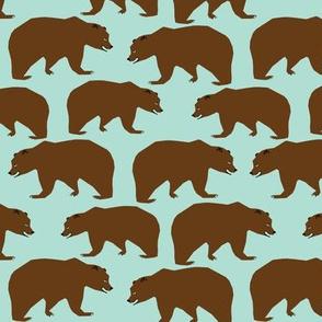bear brown bear outdoor forest kids nursery boys