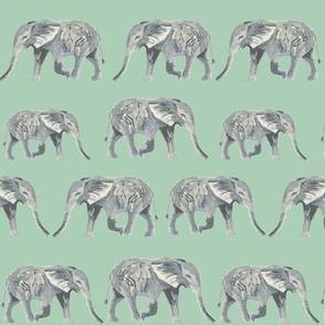elephant watercolor watercolours watercolors animals safari kids sweet animals