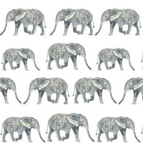 elephants watercolor white nursery baby kids nursery sweet watercolor elephants
