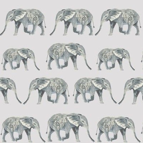 elephants elephant grey watercolors watercolor animals