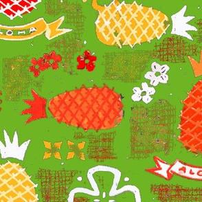 Aloha Pineapples 1d