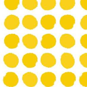 dots dot yellow sun happy nursery baby bright
