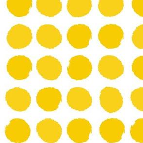 dots dot yellow sun happy nursery baby bright