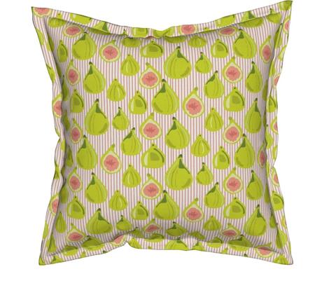Figs on Peach Stripe SM_Miss Chiff Designs