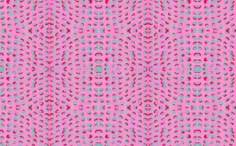 Magenta Pink Cyan Dots