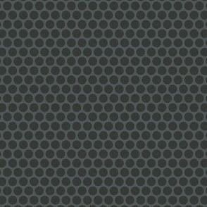 Dark Gray Tone Honeycomb Dot