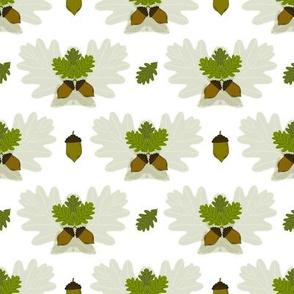 Acorn Leaves Family Tree Coordinate