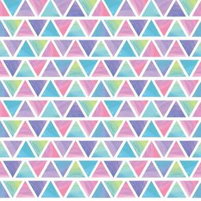 Watercolor Triangle