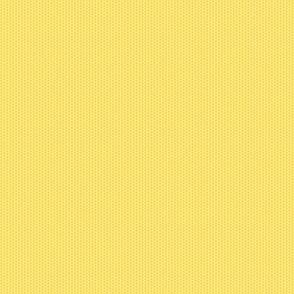 Pollen Dots - Buttery Yellow on Orange Fizz