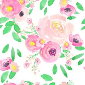 Indy Bloom Design Lemon Green Florals
