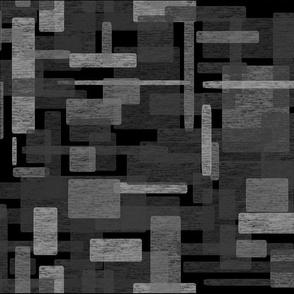 Watercolor Mosaic // Onyx