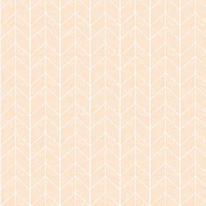 Chevron Arrow // Blush Linen