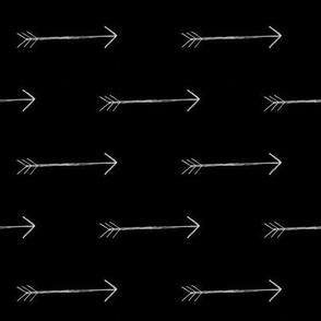 Scribble Arrows - Onyx