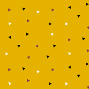 Triangles - tiny triangles, mustard, black and white, burgundy