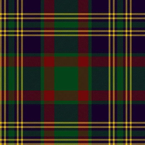 Cork district tartan, dark