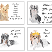 Quilt Labels - Rescue, Angel, Loyal Friend