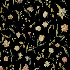 Dutch Floral Tapestry