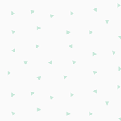 Tiny triangles - mint, geometric || by sunny afternoon
