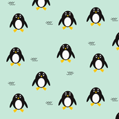 Penguins - mint || by sunny afternoon