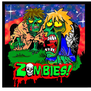 Zombies! Pillows/Totes
