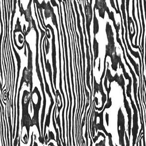 Faux Bois Woodgrain ~ Zebra