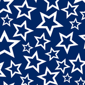 Old Glory Blue Stars