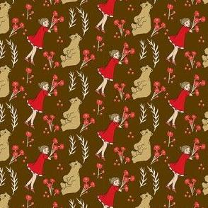 Goldie Meets Bear in Brown
