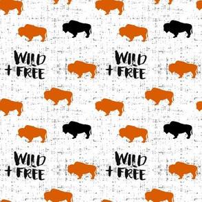 Wild + Free Buffalo (small scale)