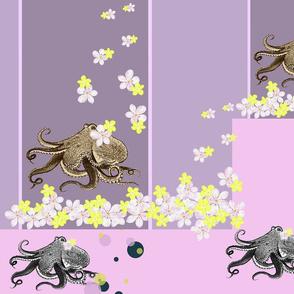 Octopus and Plumeria Lavender
