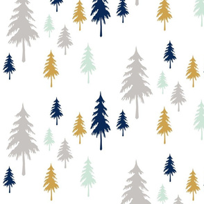 Evergreen Trees Large