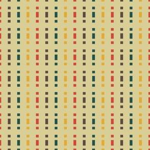 Mid-Century Stripe (Gold Palette)