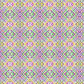 Lavender Spring Plaid Diagonal 2