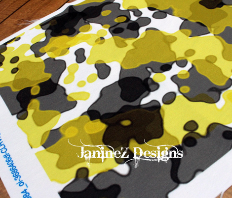 Camouflage Yellow