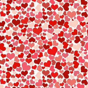 hearts all over
