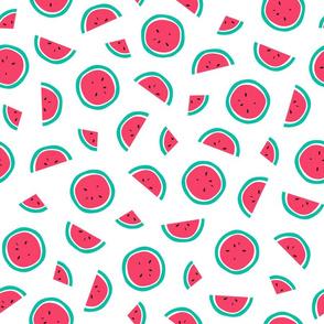 Watermelon pattern.