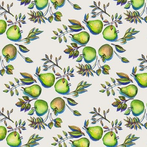 Summer's End - Apples and Pears - small version