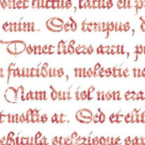 Lorem Ipsum, red-letter edition