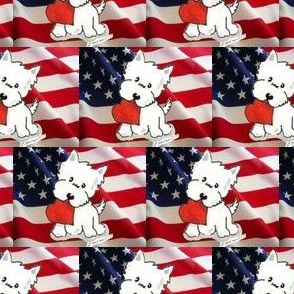 Love the USA Westie