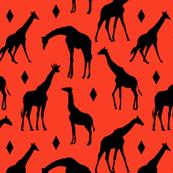 Geo Giraffes - Saharan Sunset