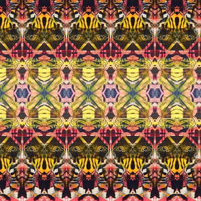 """Prying Eyes Family Totem Fashion Fabric"""