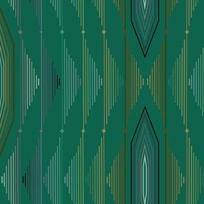 emerald geometric