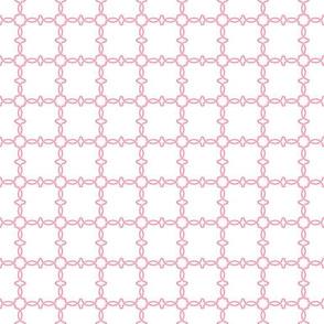 Trellis Weave Soft Pink